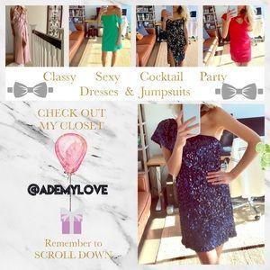 Lulu's Dresses - 🍾Perfect Holiday Sexy Black Lace Dress LULU'S S